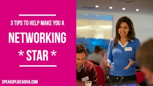 3 networking tips