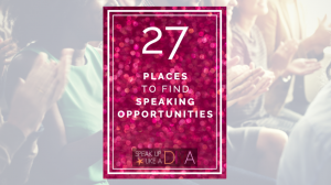 Find Public Speaking Opportunities PDF