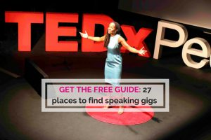 27 Places to find speaking opportunities guide