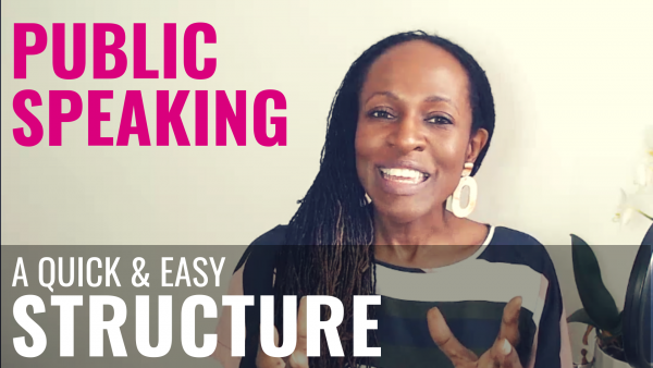 Public Speaking a quick & easy STRUCTURE
