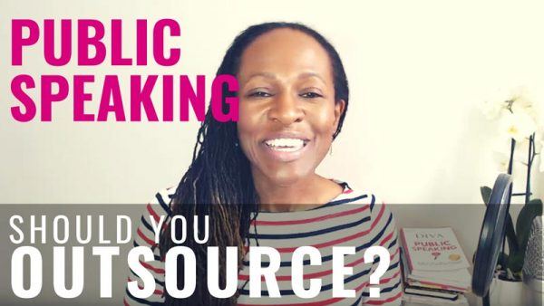 PUBLIC SPEAKING Should You Outsource