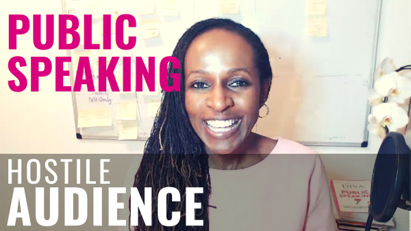 Public Speaking - Hostile AUDIENCE?
