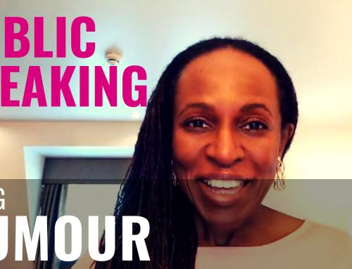 PUBLIC SPEAKING – Using HUMOUR (1)