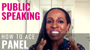 PUBLIC SPEAKING - How to ace PANEL DISCUSSIONS
