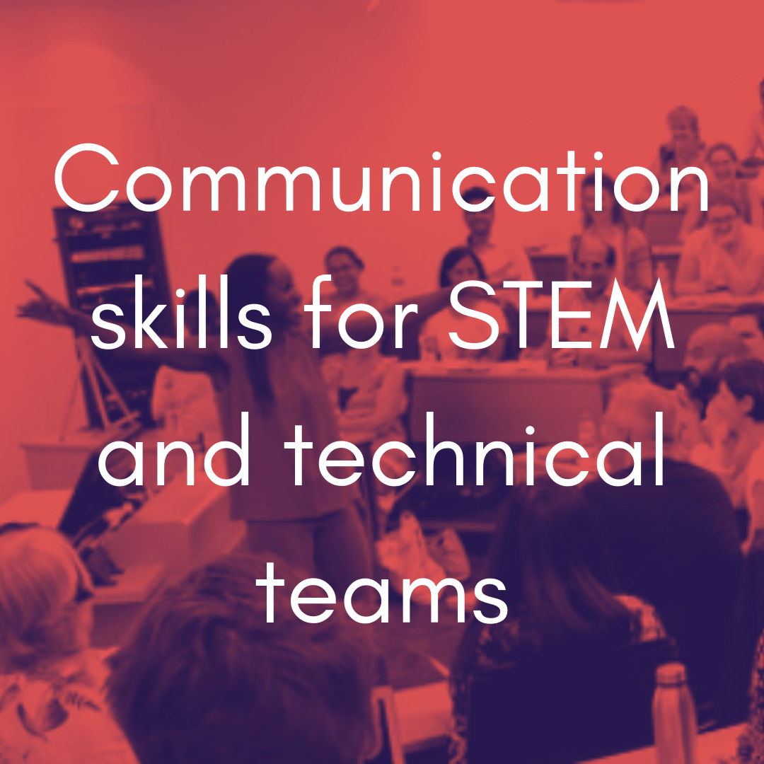 Communication for stem and tech