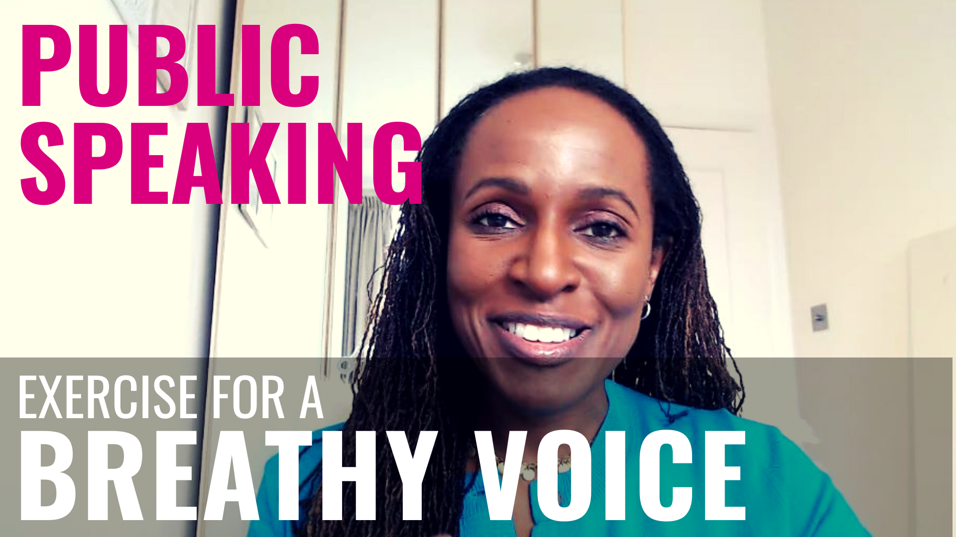PUBLIC SPEAKING – Exercise for a BREATHY VOICE