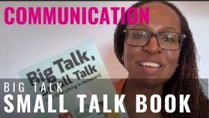 COMMUNICATION - Big Talk Small Talk Book